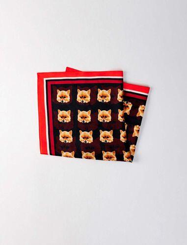 Silk scarf : Scarves and shawls color Multico