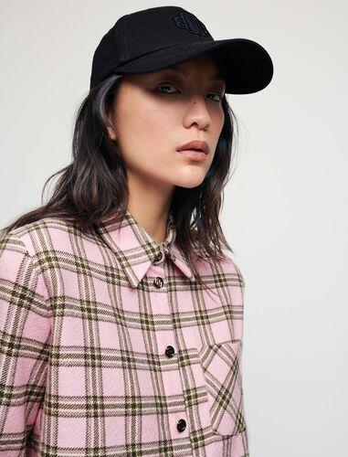 系带格纹衬衫 : Shirts 顏色 粉色/PINK