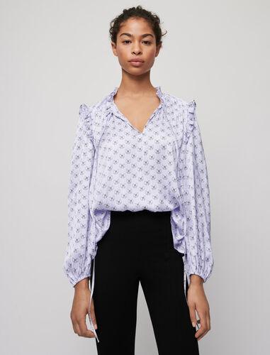 Maje : Tops color Parma Violet