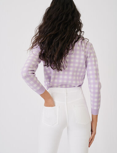 Flared jeans with pockets and buttons : Jeans color White