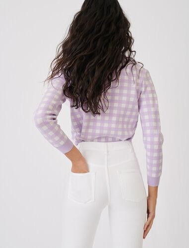 高腰修身牛仔裤 : 牛仔裤 顏色 白色/WHITE