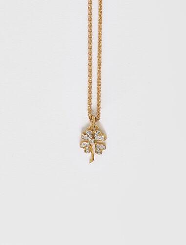 三叶草链坠 : Jewelry 顏色 金色/GOLD
