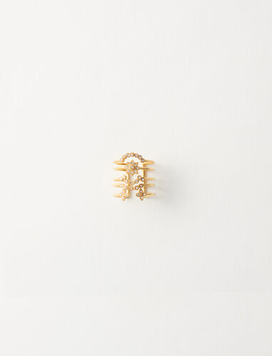 Precious day of the week ring : Jewelry color Gold