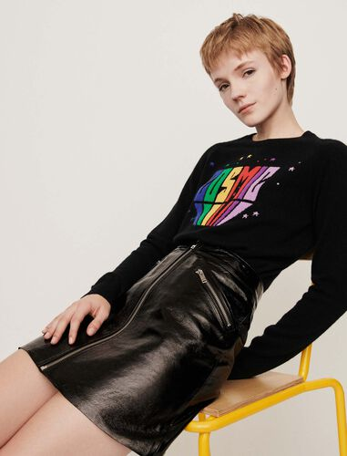 Cashmere sweater : Sweaters color Black