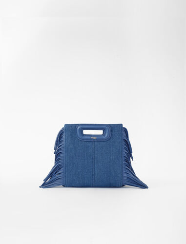Mini denim M bag : M Mini color Blue