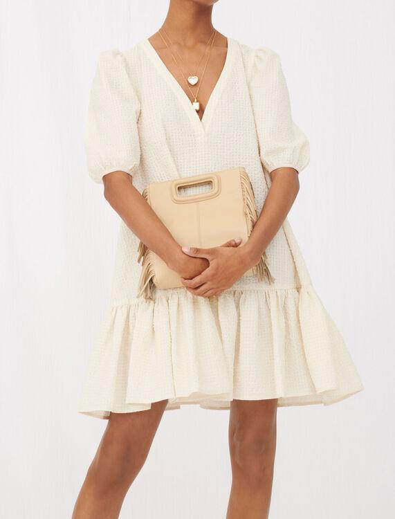 Dress in cloqué fabric - Dresses - MAJE