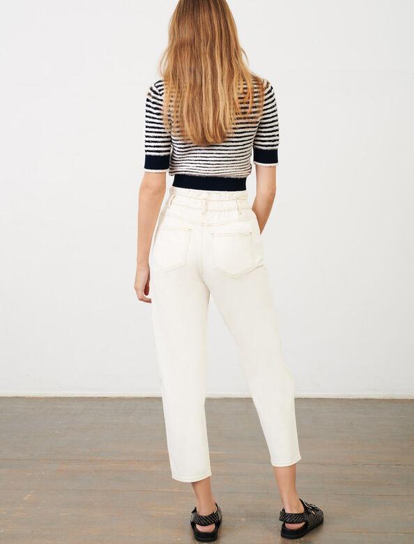 Sailor jumper : Sweaters color Navy / Ecru