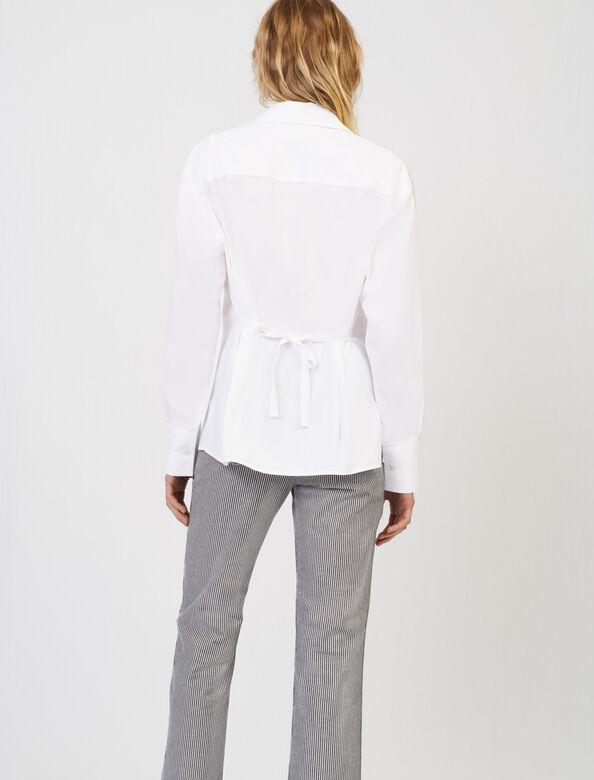 Oversize poplin shirt : Shirts color White