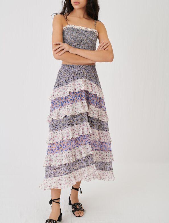 Maje : 半身裙及短裤 顏色 蓝色/BLUE