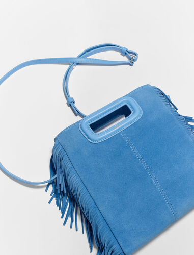 Suede M bag : View All color Navy