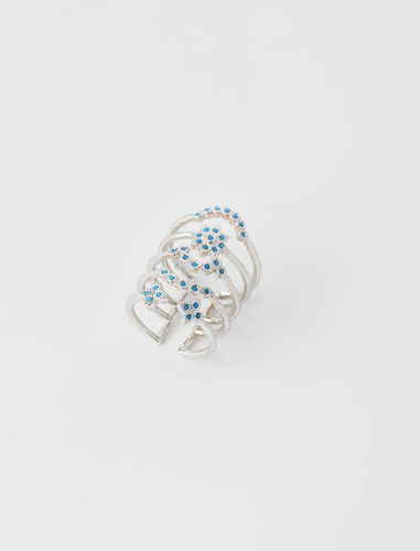 Precious day of the week ring : Other accessories color Silver