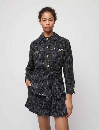Maje : Coats & Jackets 顏色 深蓝色/NAVY