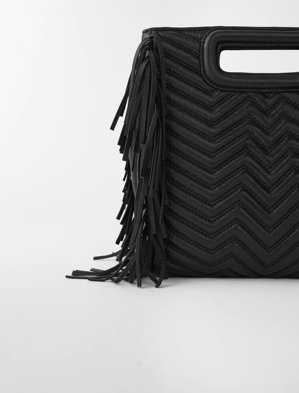 Maje : Small leather goods color Black