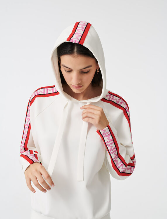 Hooded sweatshirt - Tops - MAJE
