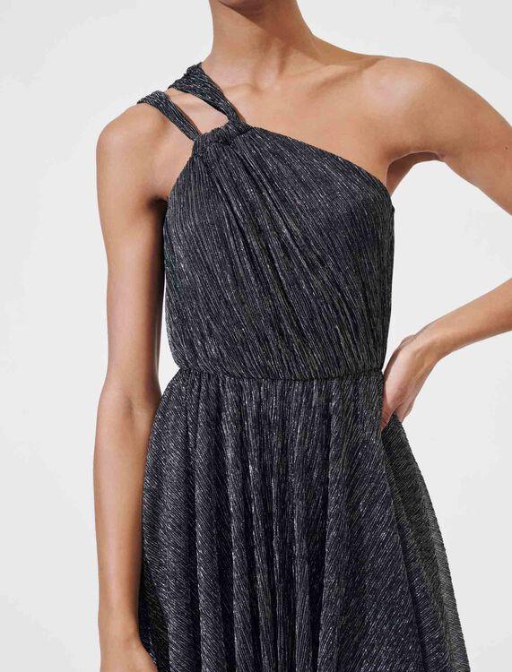 Sparkly dress with straps - Dresses - MAJE
