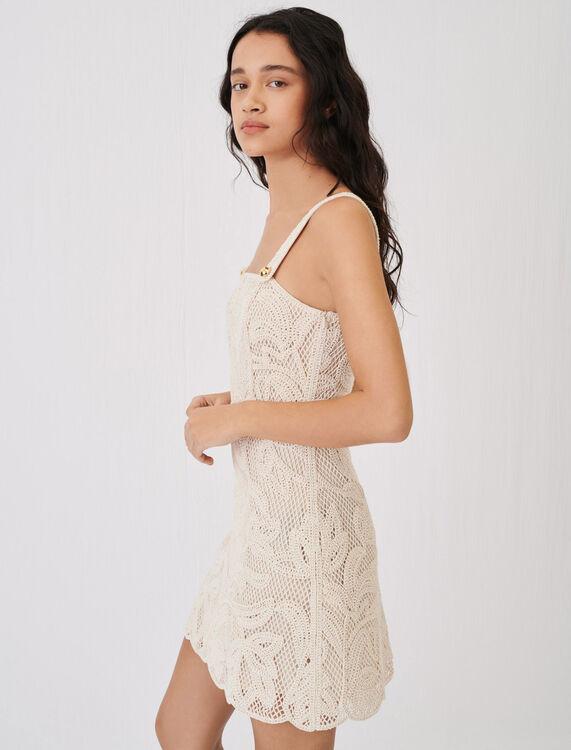 Macramé-style strappy dress - Dresses - MAJE