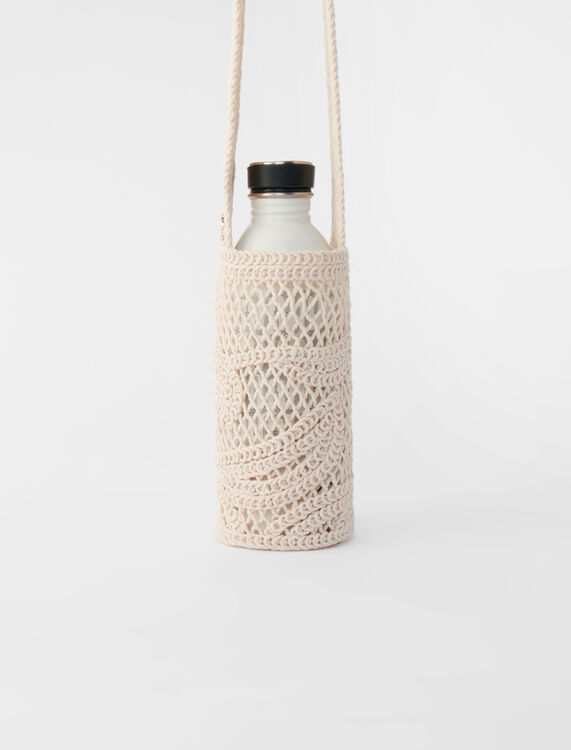 Macramé bottle bag -  - MAJE
