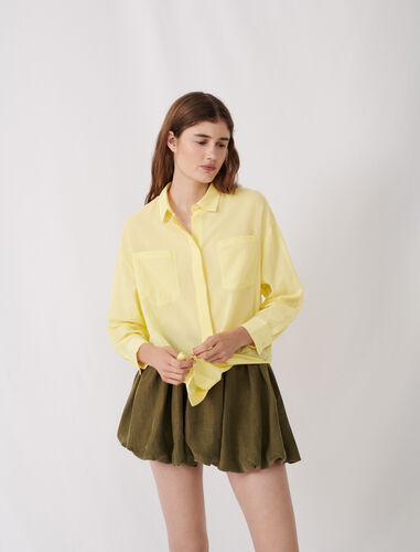 Airy shirt : Shirts color Blue