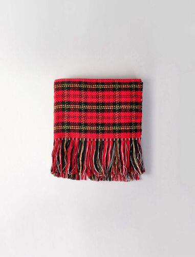 Whool-blend scarf : Scarves and shawls color Multi-Coloured