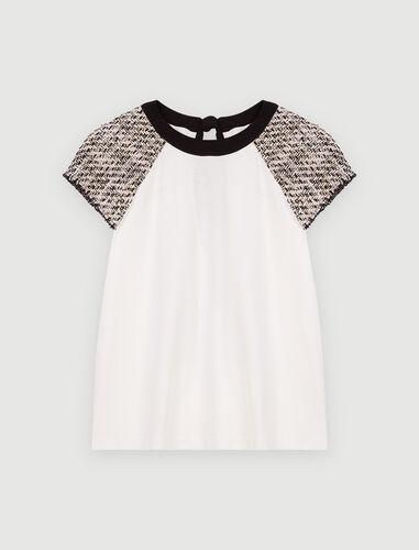 Maje : T-Shirts 顏色 白色/WHITE