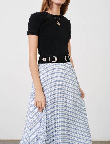 绒面革腰带 : null 顏色 黑色/BLACK