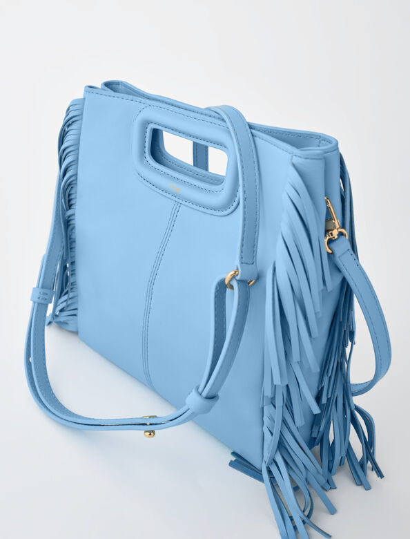 Leather M bag : NEW IN color Light Blue