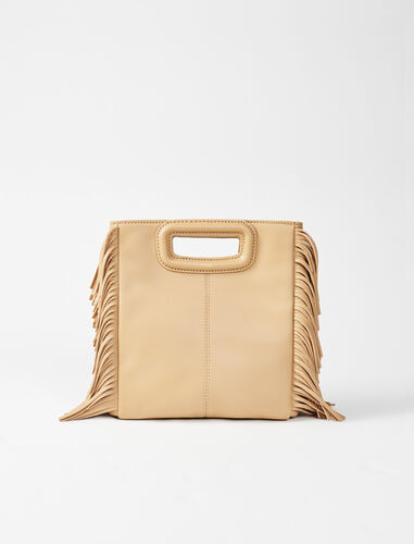Leather M bag : M Bag color Beige
