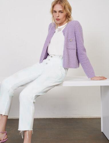 扎染印花直筒裤 : 牛仔裤 顏色 多色/MULTI-COLOR