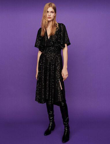 Sequin smock dress : Dresses color Black