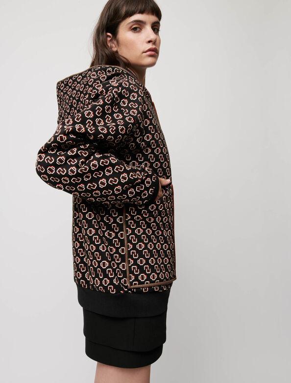 Oversized Maje printed sweatshirt : Tops color Big black M monogramme