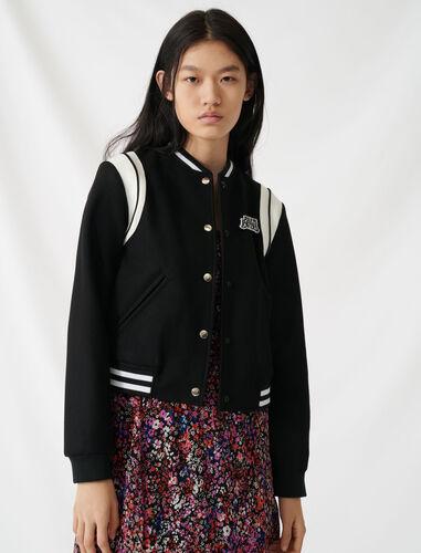 American teddy-style jacket : Coats & Jackets color Black