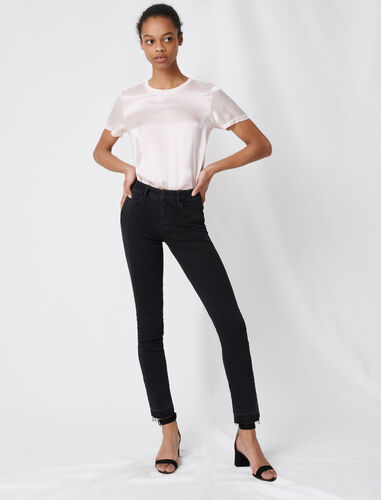 Basic skinny jeans : Jeans color Anthracite