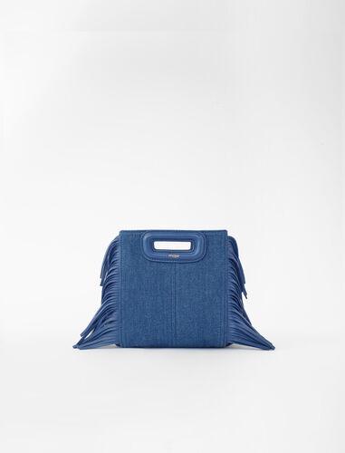 Mini denim M bag : M Mini color Blue