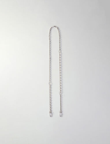 Removable chain for silver purse : Other accessories color Silver